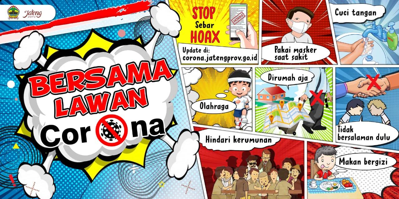 Poster Bersama Lawan Corona